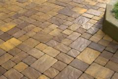 Портфолио-Мощение тротуарной плиткой