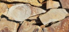 Песчаник желтый с разводами 60 %