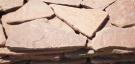 Песчаник красный,галтованый