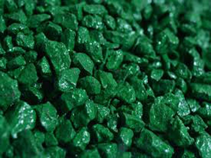 Зелёная гранитная крошка