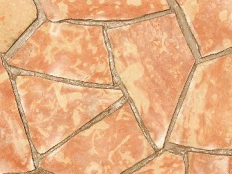 Известняк персиковый односторонней обработки