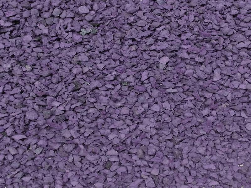 Натуральная крошка из фиолетового лемезита