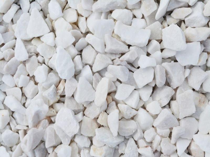 Белый натуральный камень