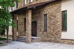 Портфолио-Облицовка фасада дома