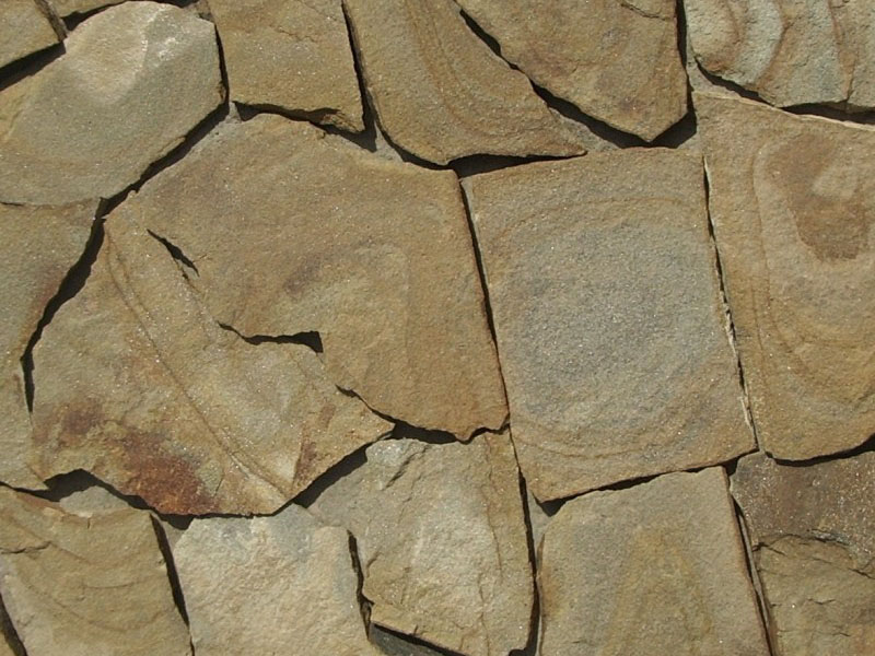 Песчаник бежево-коричневый с разводами