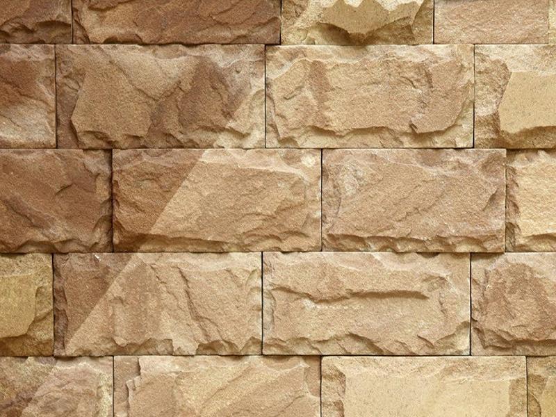 Плитка из песчаника бежево-коричневого