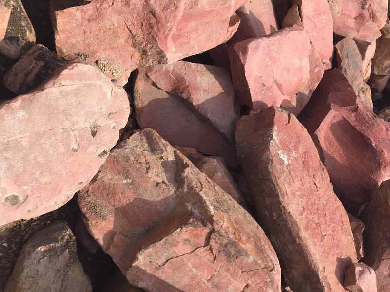 Розовый натуральный камень