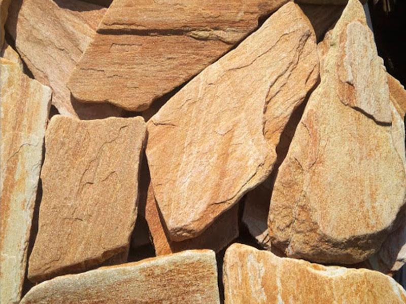 Желтый натуральный камень