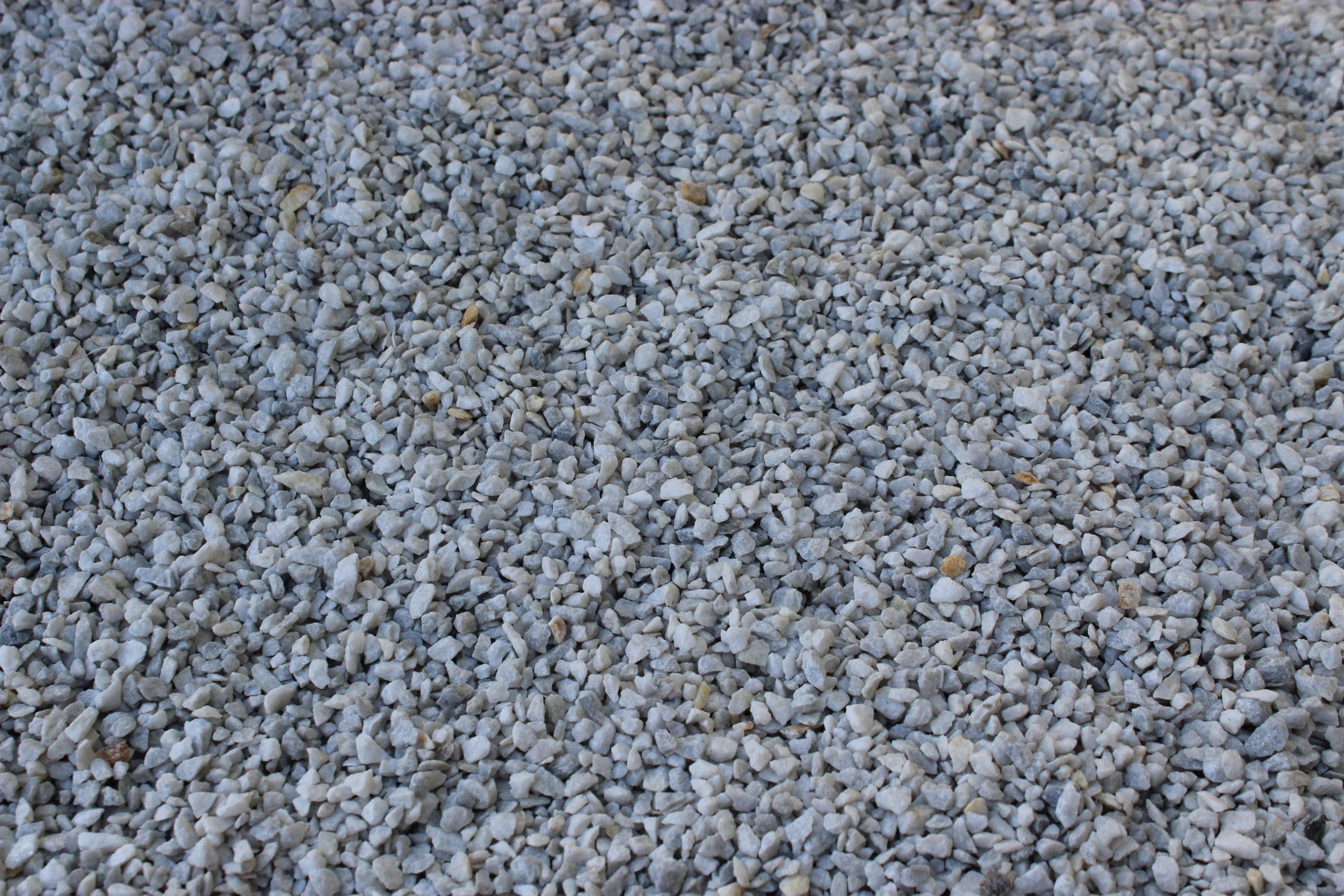 Крошка из бело-серого мрамора